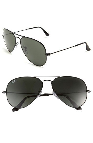 42559a43d2 Ray-Ban  Original Aviator  58mm Sunglasses available at  Nordstrom black   150