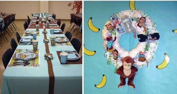 Baby Shower Decorations Girl Monkey Theme ~ Girl monkey theme baby shower monkey see monkey do click here