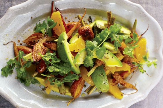 A Girl and Her Pig's Carrot, Avocado, and Orange Salad on Food52