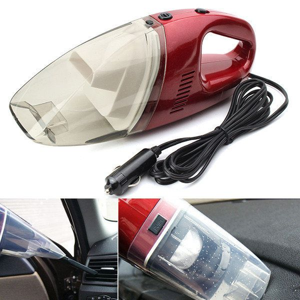 Car Supplies Portable Motor Vehicle Interior Dry Wet Vacuum Cleaner