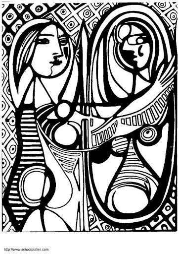 Picasa Web Albums Mamen Ramirez Arte Famous Art Coloring Picasso Coloring Famous Art