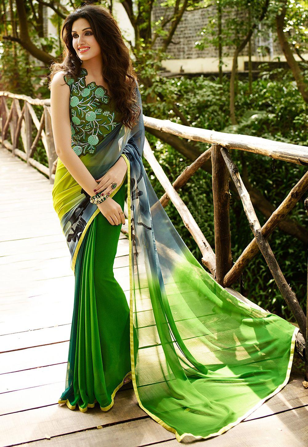 #Georgette #Saree #Saree;