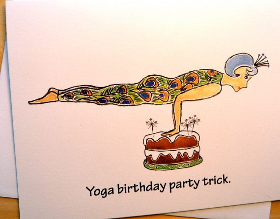 Pin By Abbey Reeves On Things I Love And Make Me Smile Happy Birthday Yoga Happy Birthday Meme Birthday