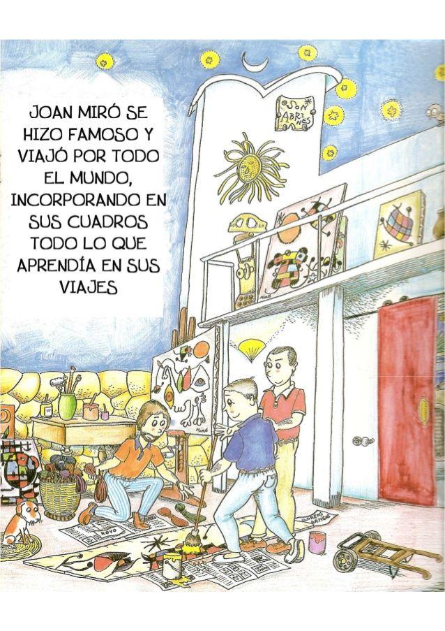 La Pequeña Historia De Joan Miro In 2020 Joan Miro Miro Art