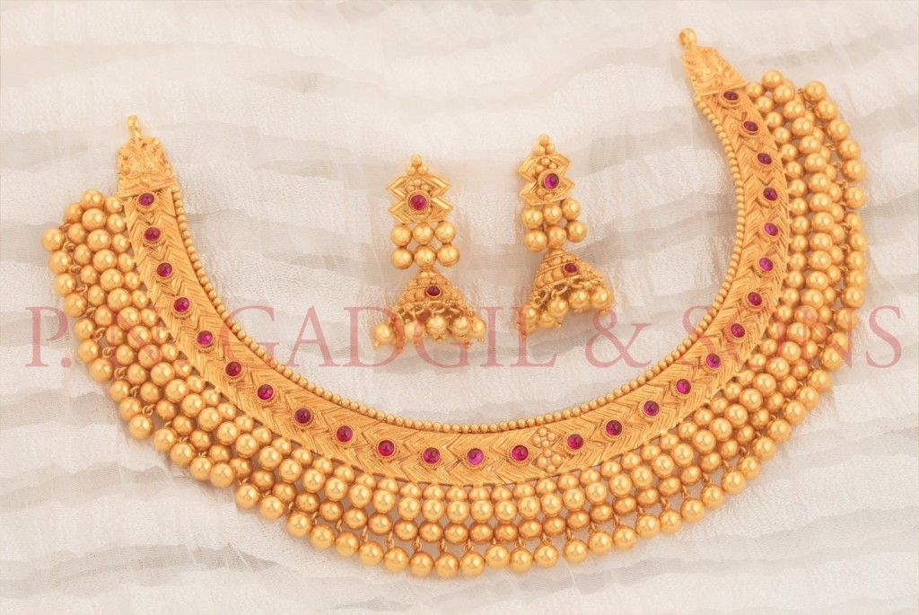 Pn Gadgil Sons Are One Of The Best Jewellers In Pune Known Fo Bridal Gold Jewellery Designs Gold Necklace Indian Bridal Jewelry Gold Jewelry Simple Necklace