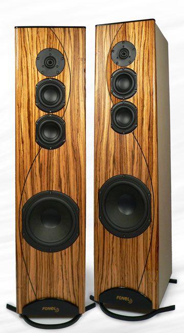 """Fone """"La Ronda"""" 3-band active speaker systems"""