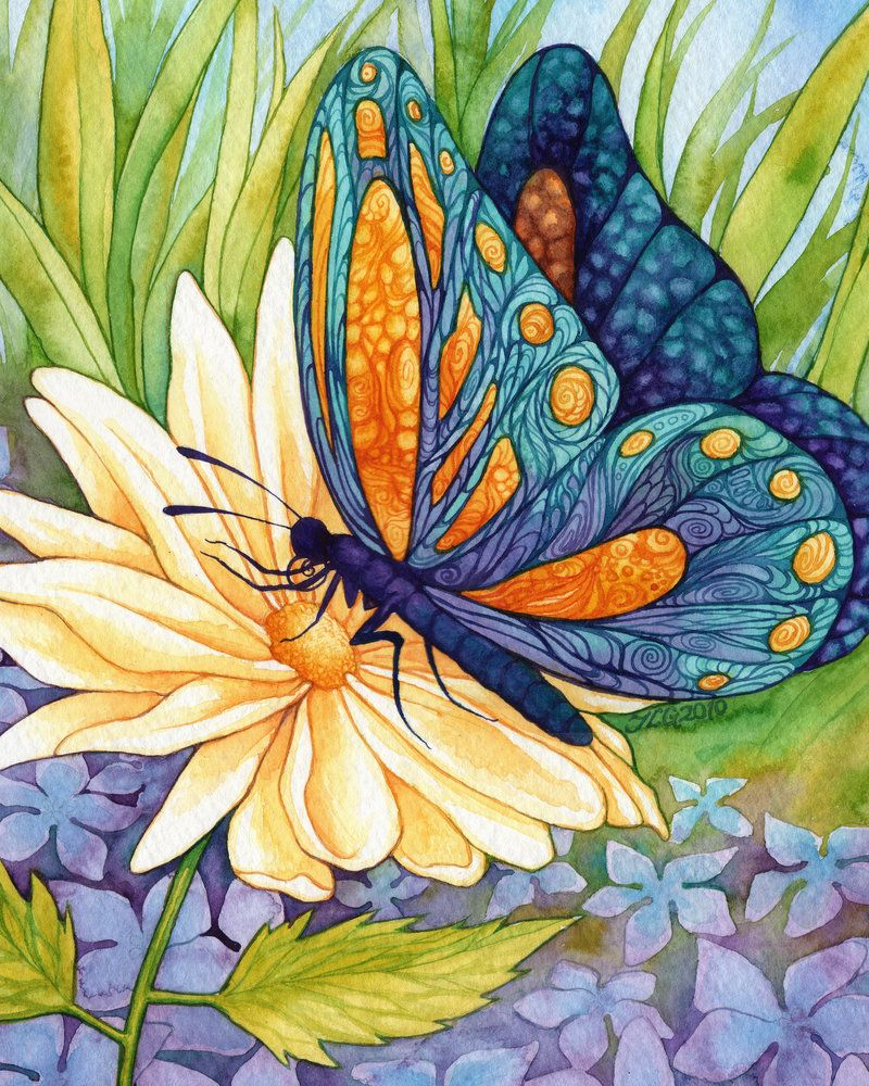 jlgribble on deviantart the butterfly princess peinture d corative pinterest papillon. Black Bedroom Furniture Sets. Home Design Ideas