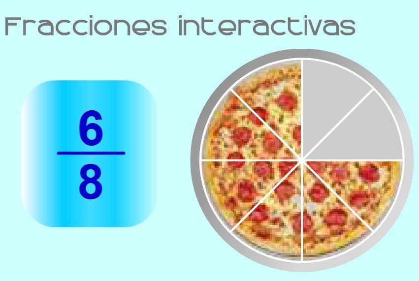 Aprender Fracciones Juegos De Matemáticas Fracciones Juegos Con Numeros