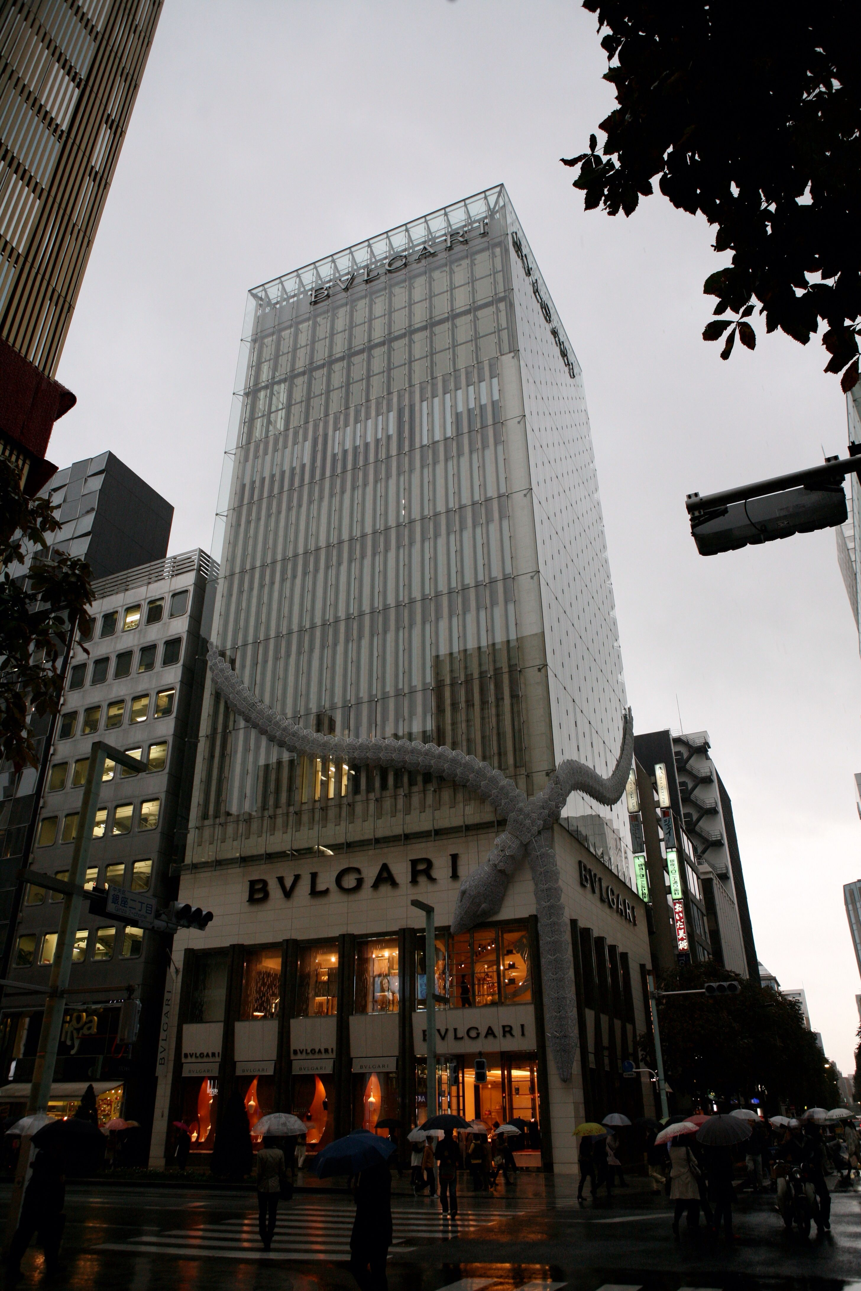 Ginza...the posh ward for the most expensive shopping...where even the buildings wear the brand! 2