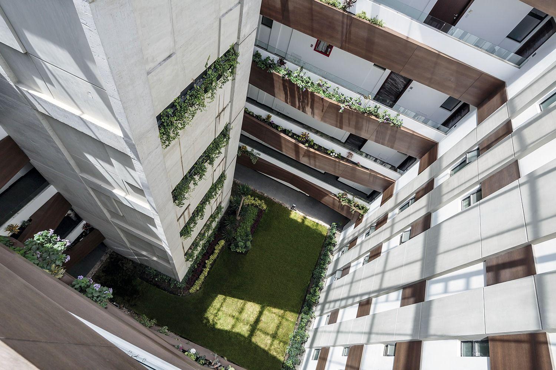 concreto + madeira