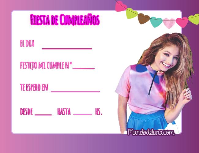 Soy Luna 3 Invitaciones De Cumpleanos Soy Luna Fans