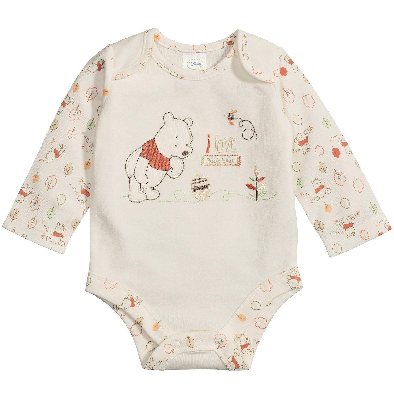 Baby Romper Sleepsuit Hooded Disney Winnie The Pooh