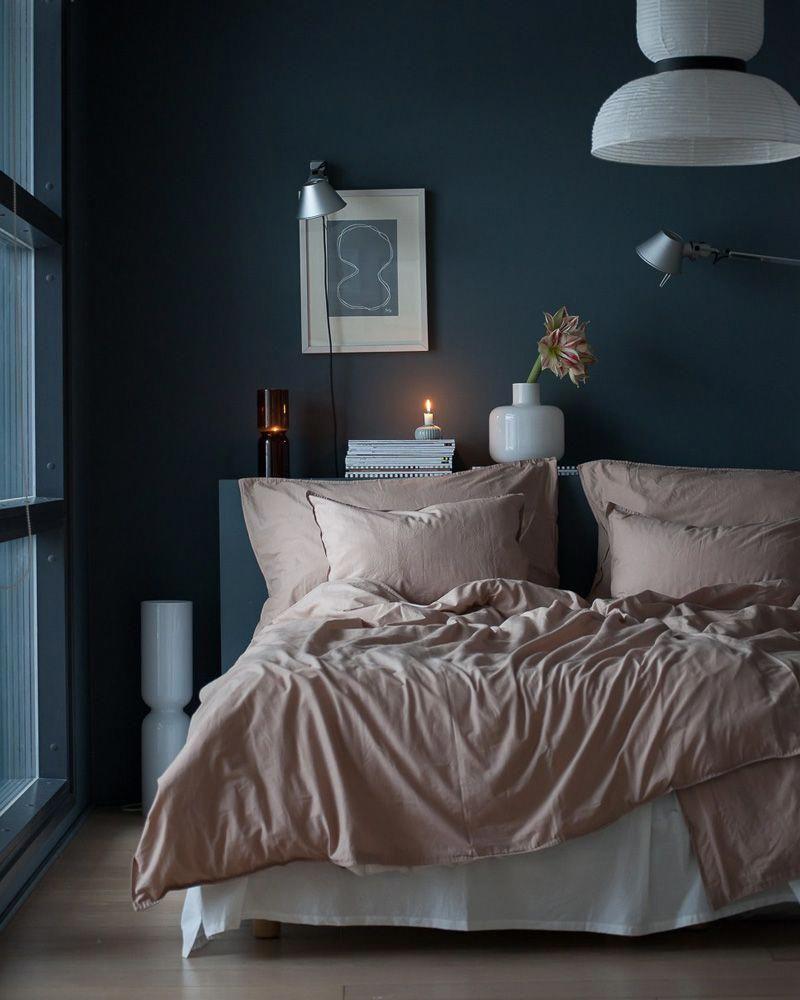 Photo of réchauffer deco chambre peinture #bluebedroom
