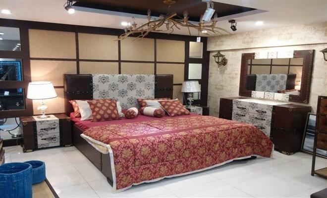 "Latest Furniture Designs For Bedroom Endearing The Beautiful "" Led Indus Bed Set "" For More Visit Wwwfacebook Design Decoration"