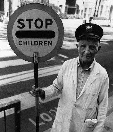 British Lollipop Man. S)