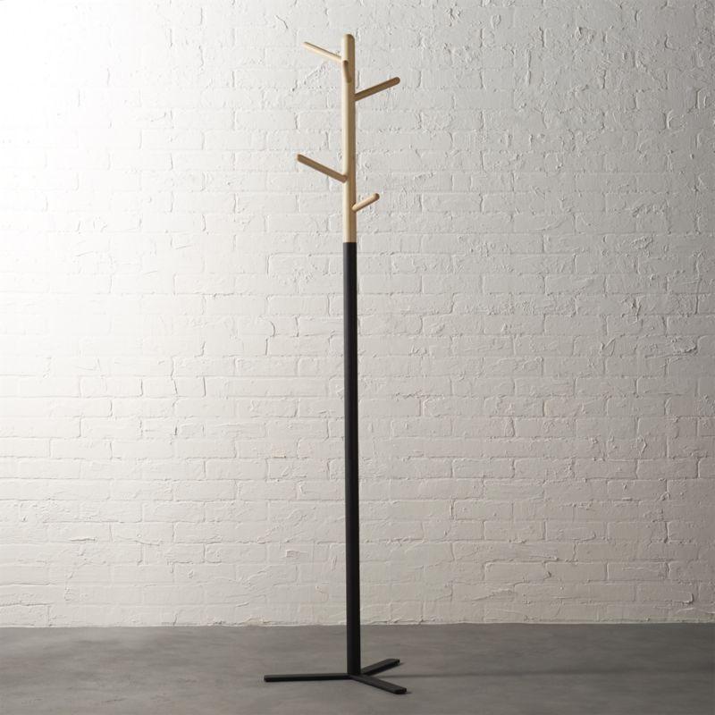 Sculptural storage supports hats coats bags on the vertical. Venta Cb2 Coat Hanger En Stock