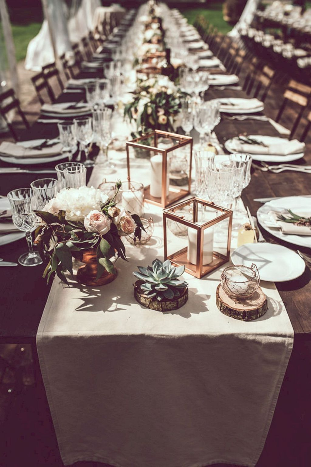 Beautiful table setting ideas for your wedding (30) & Beautiful table setting ideas for your wedding (30) | Beautiful ...