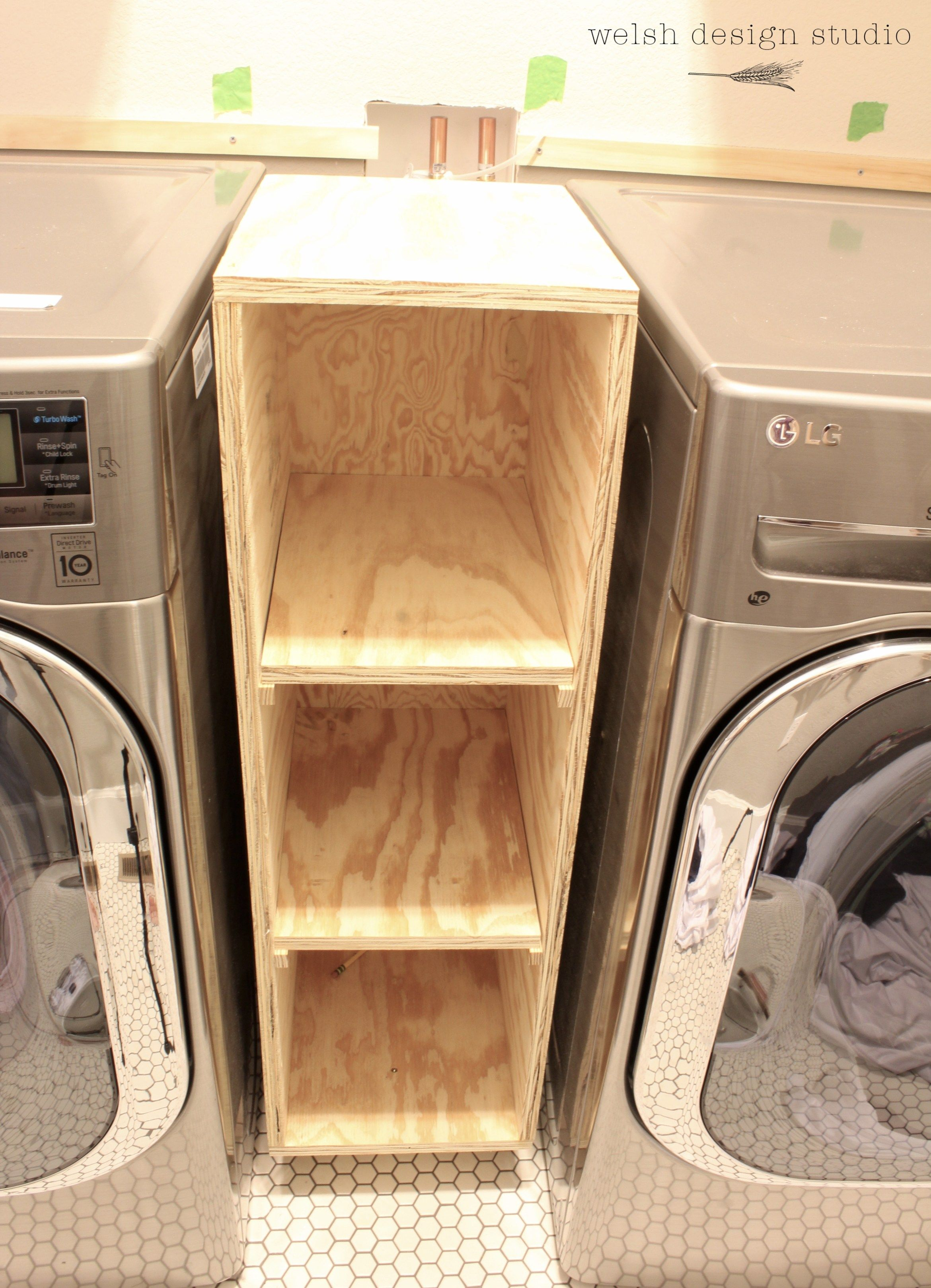 A Quick Laundry Room Makeover Update Welsh Design Studio Small Laundry Room Organization Laundry Room Diy Small Laundry Rooms