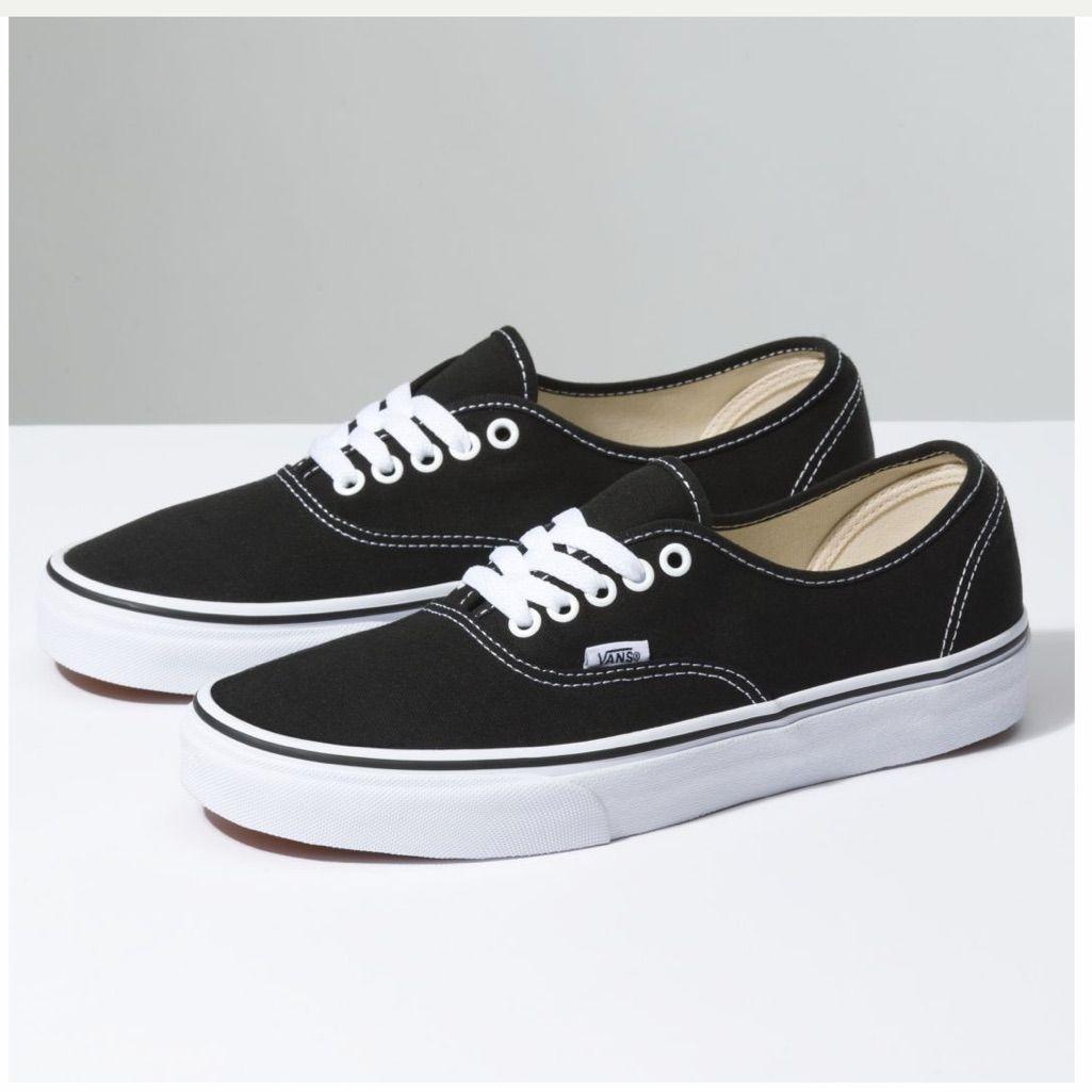 Vans Black White Authentic 5 / 6.5