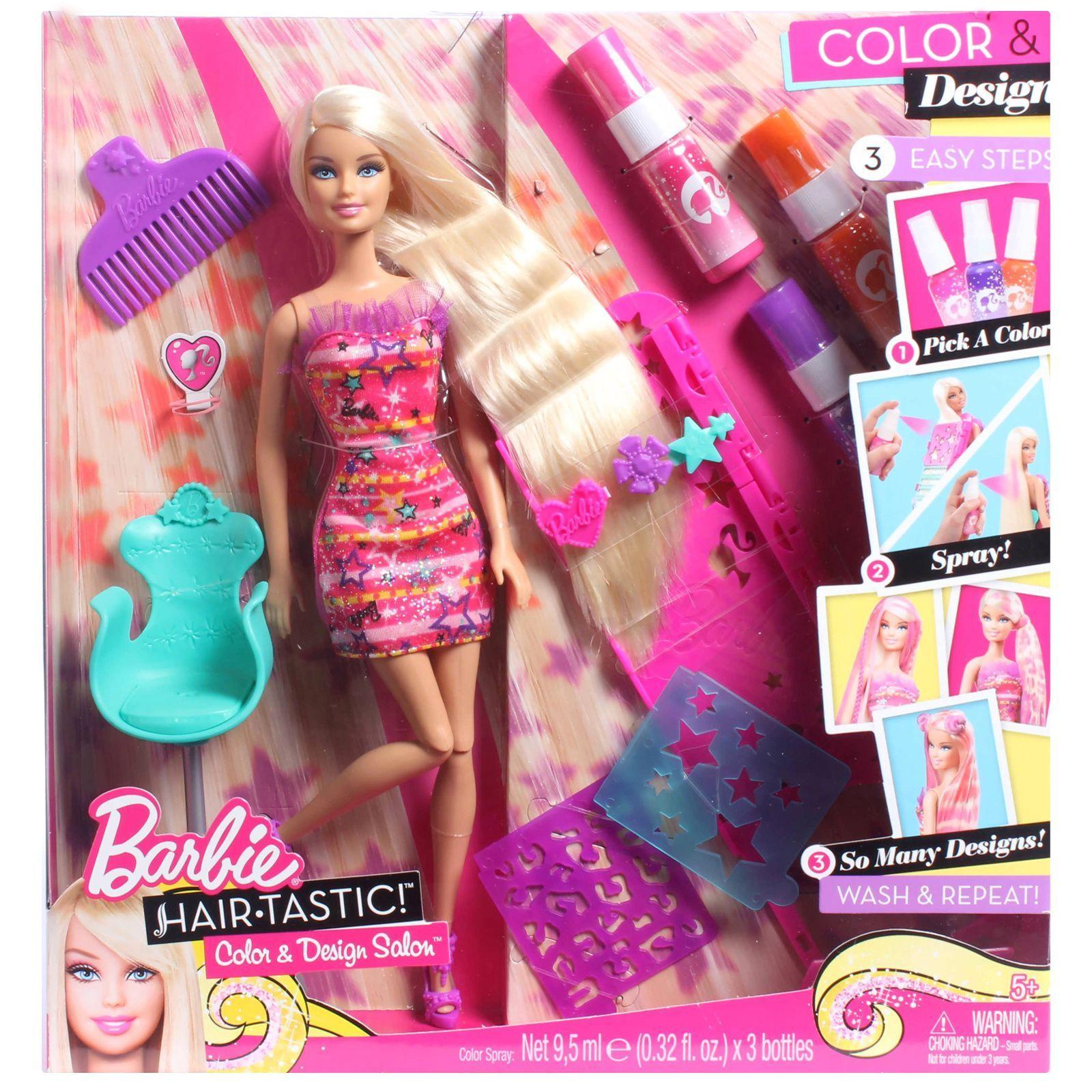 Barbie hair coloring games - Barbie hair coloring games