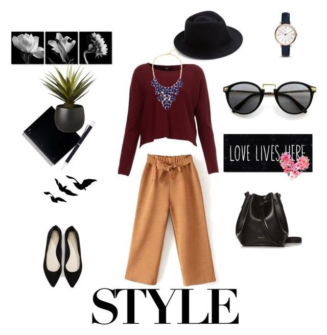 """Без названия #23"" by bezuglidze ❤ liked on Polyvore featuring Forever 21, Rachael Ruddick, Eugenia Kim, FOSSIL, CB2 and Georg Jensen"
