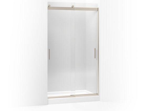 Kohler S Levity Sliding Shower Door 82 H X 44 5 8