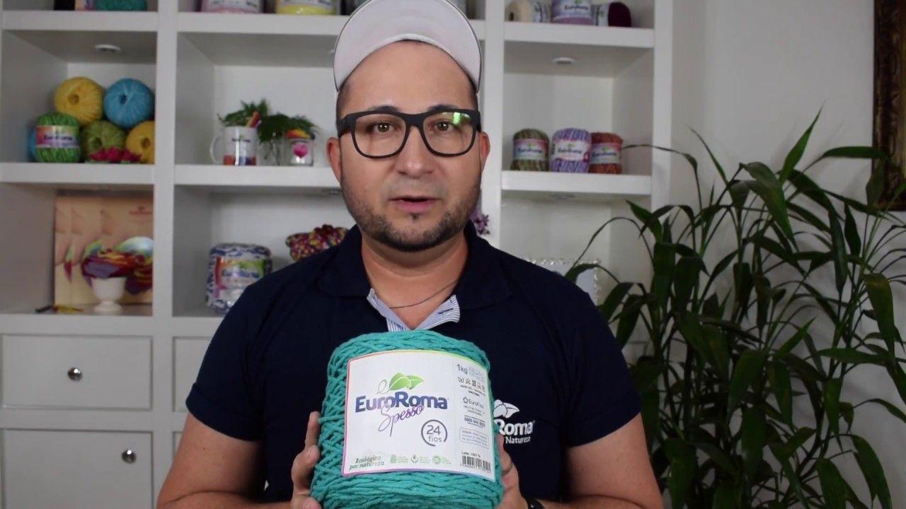 Crochetando com EuroRoma e Marcelo Nunes - Tapete Spesso