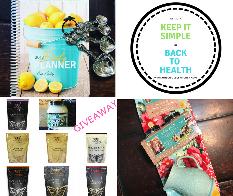 Keeping It Simple & Getting Back To Health on Trim Healthy Mama... oh & a big giveaway!  http://mrscriddleskitchen.com/keep-it-simple-back-to-health/