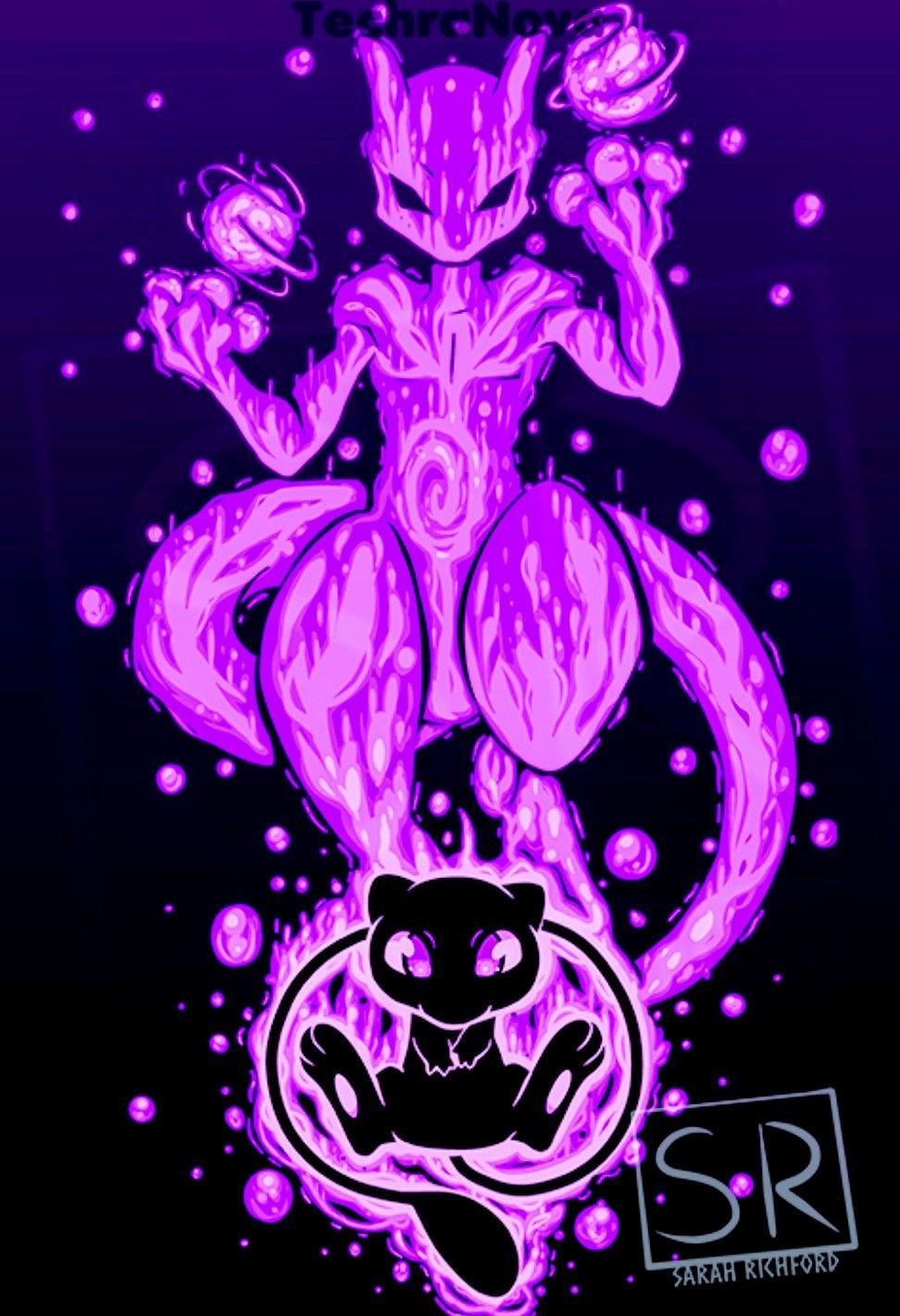 Mew Mewtwo Pokemon Pokemon Mewtwo Cool Pokemon Wallpapers Pokemon Mew