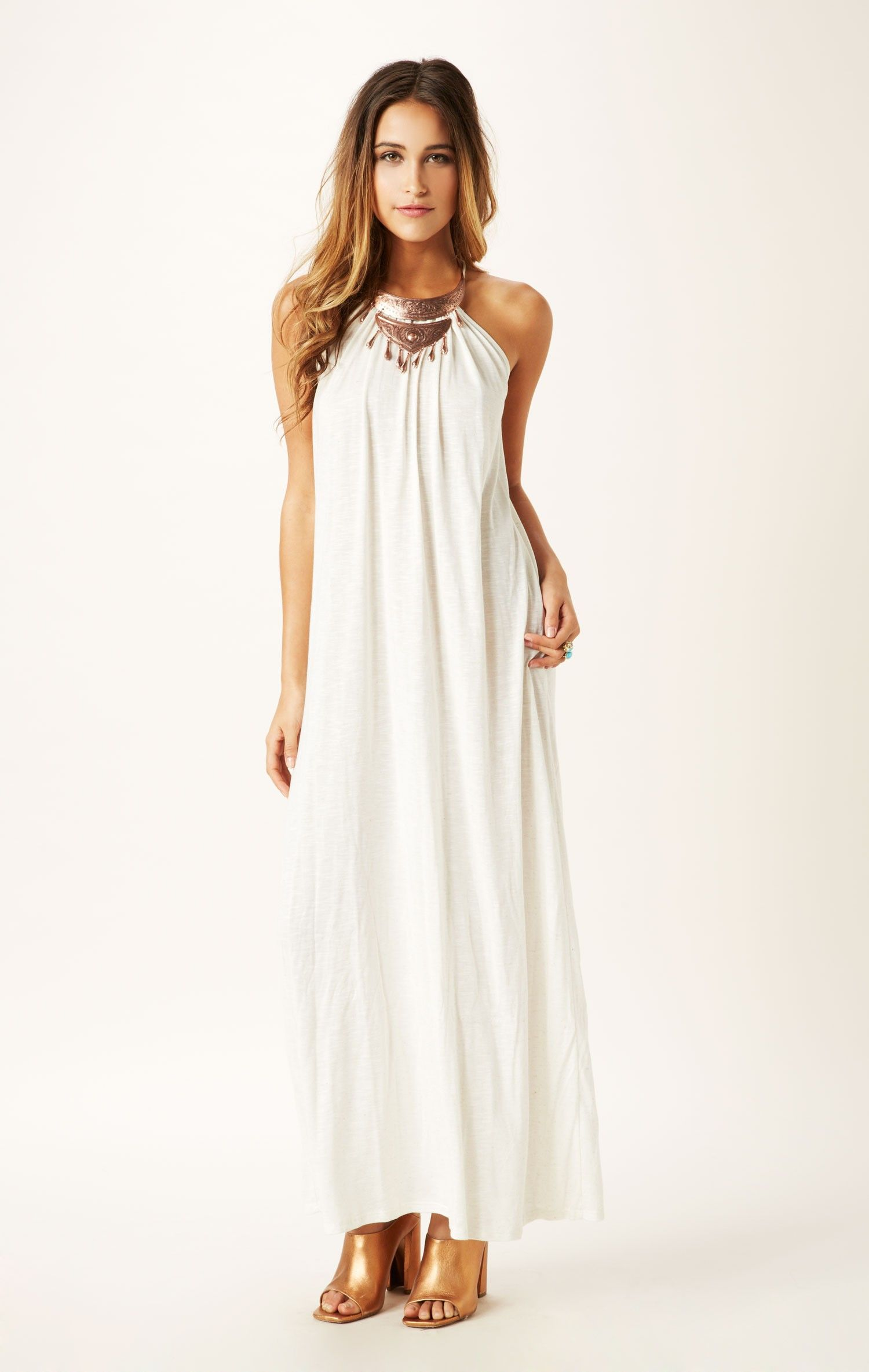 Maxi Halter Dress