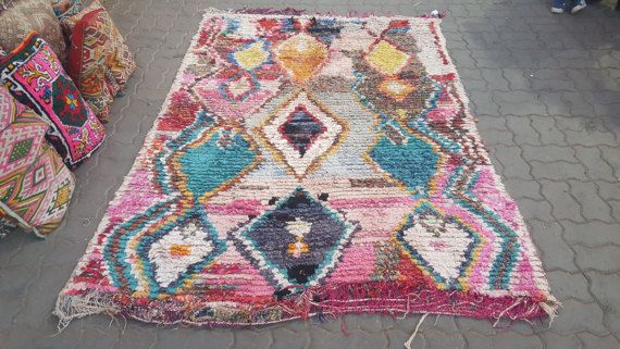 Beautiful Moroccan bouchrouites rugrugs style by rugrugsstyle