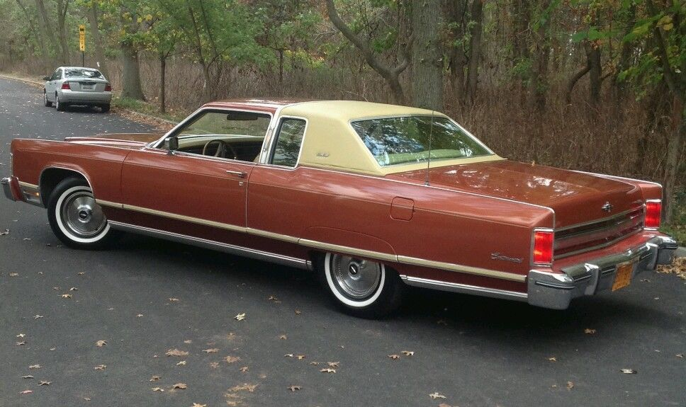 1976 Lincoln Continental 2 Door Town Coupe Ebay Big American