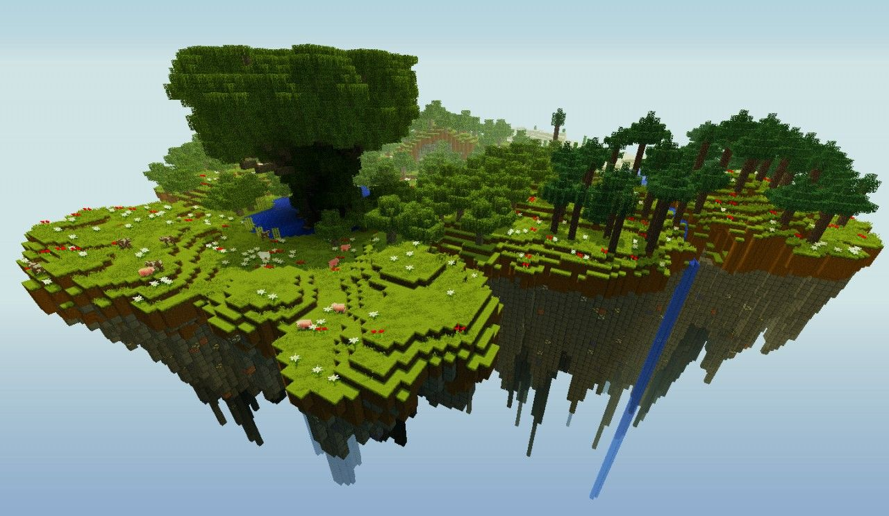 Floating Island Survival Minecraft Project