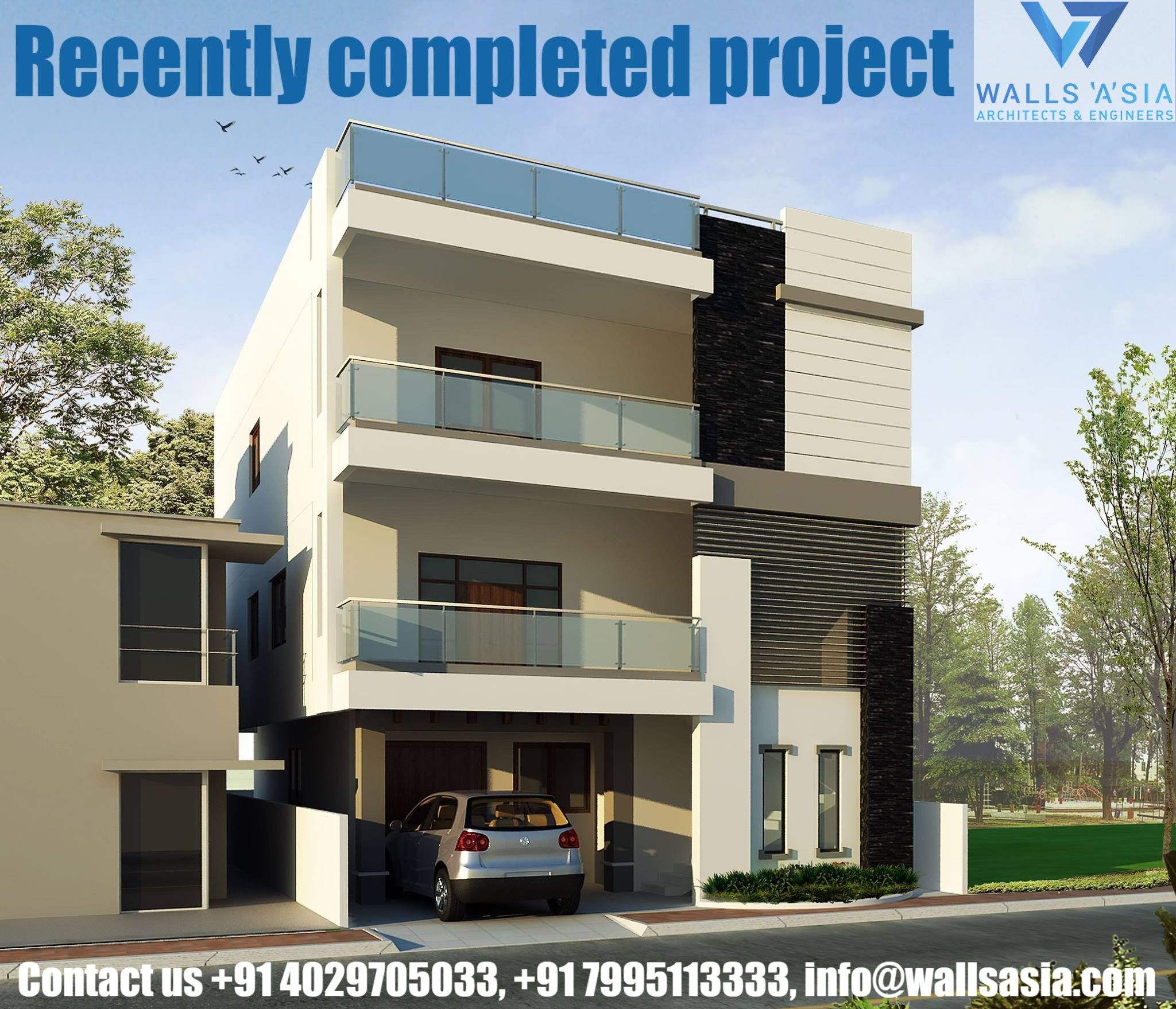 Recently Completed Project By Walls Asia Architects And Interior Designers Hire An Expert From Interior Designers In Hyderabad Office Interior Design Architect
