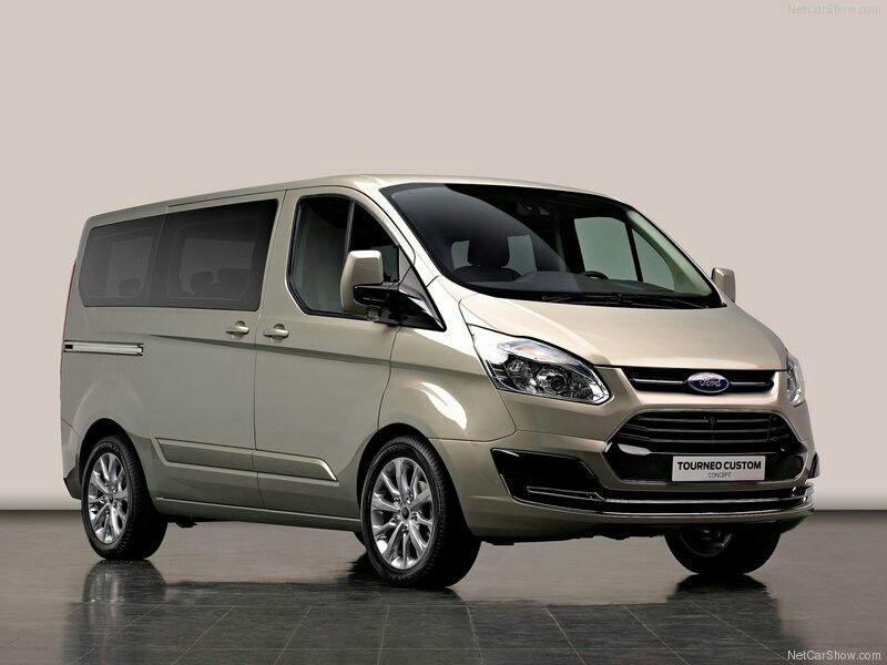 2012 Ford Tourneo Custom Concept Ford Transit Ford Van Transit Custom