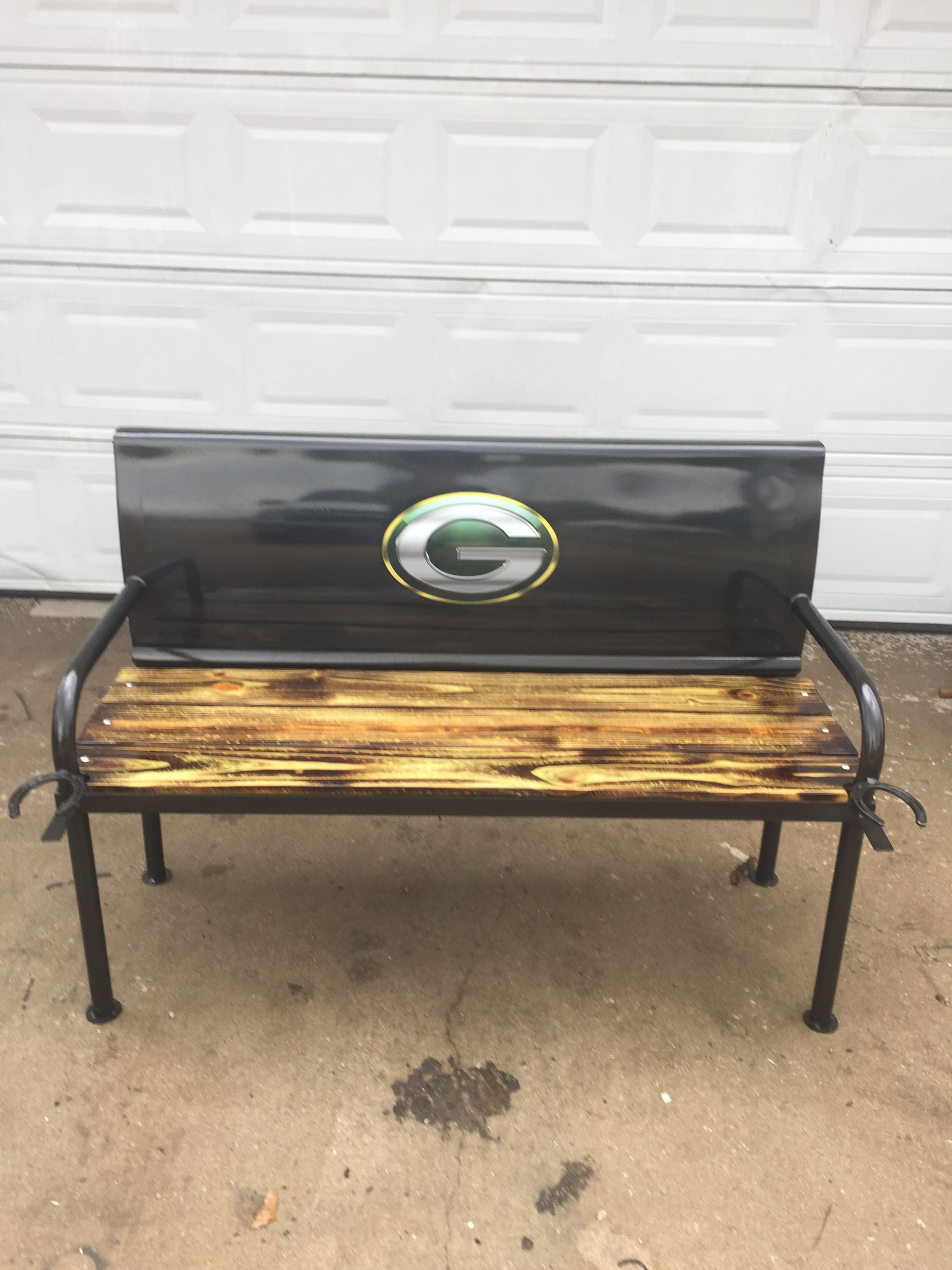 Green Bay Packer Tailgate Bench Green Bay Packers Crafts Tailgate Bench Coffee Table