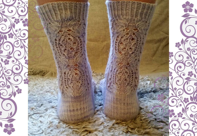 Vallmo Socks | Lace patterns, Knitting patterns and Socks
