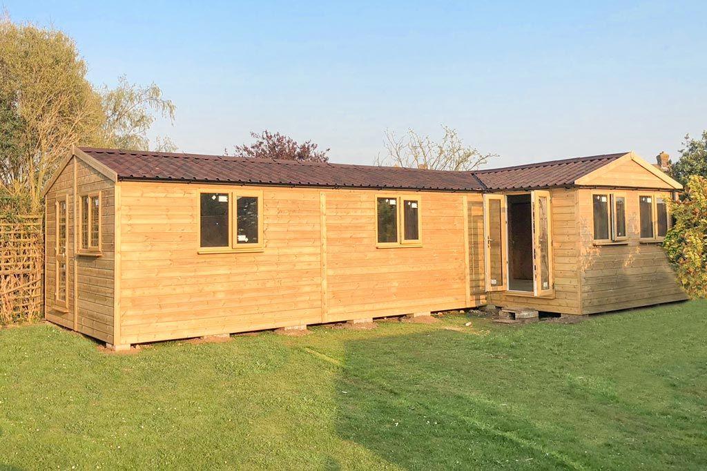 Garden Studios & Home Offices | Timber, Garden workshops ...