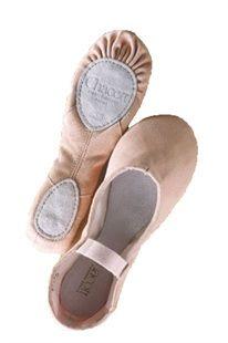 9eebeb2057b Freed Chacott Split Sole Soft Ballet Shoe. Soft canvas