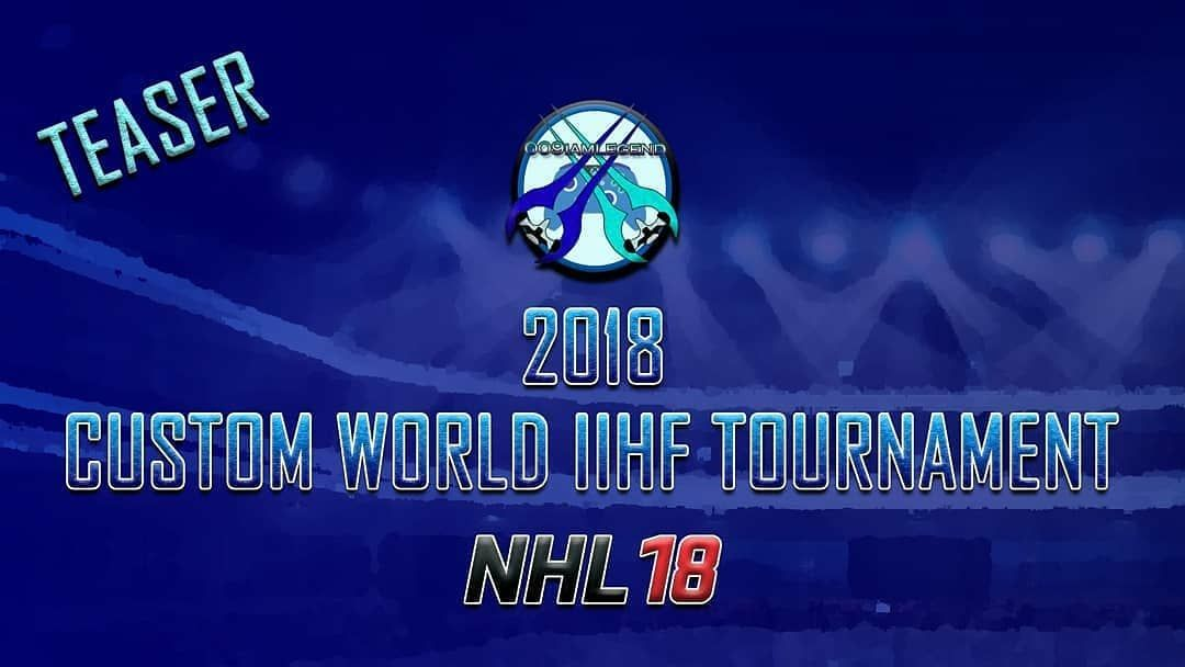a82fc18a2 The rules to my upcoming custom IIHF World Hockey Tournament in NHL 18.   Teaser