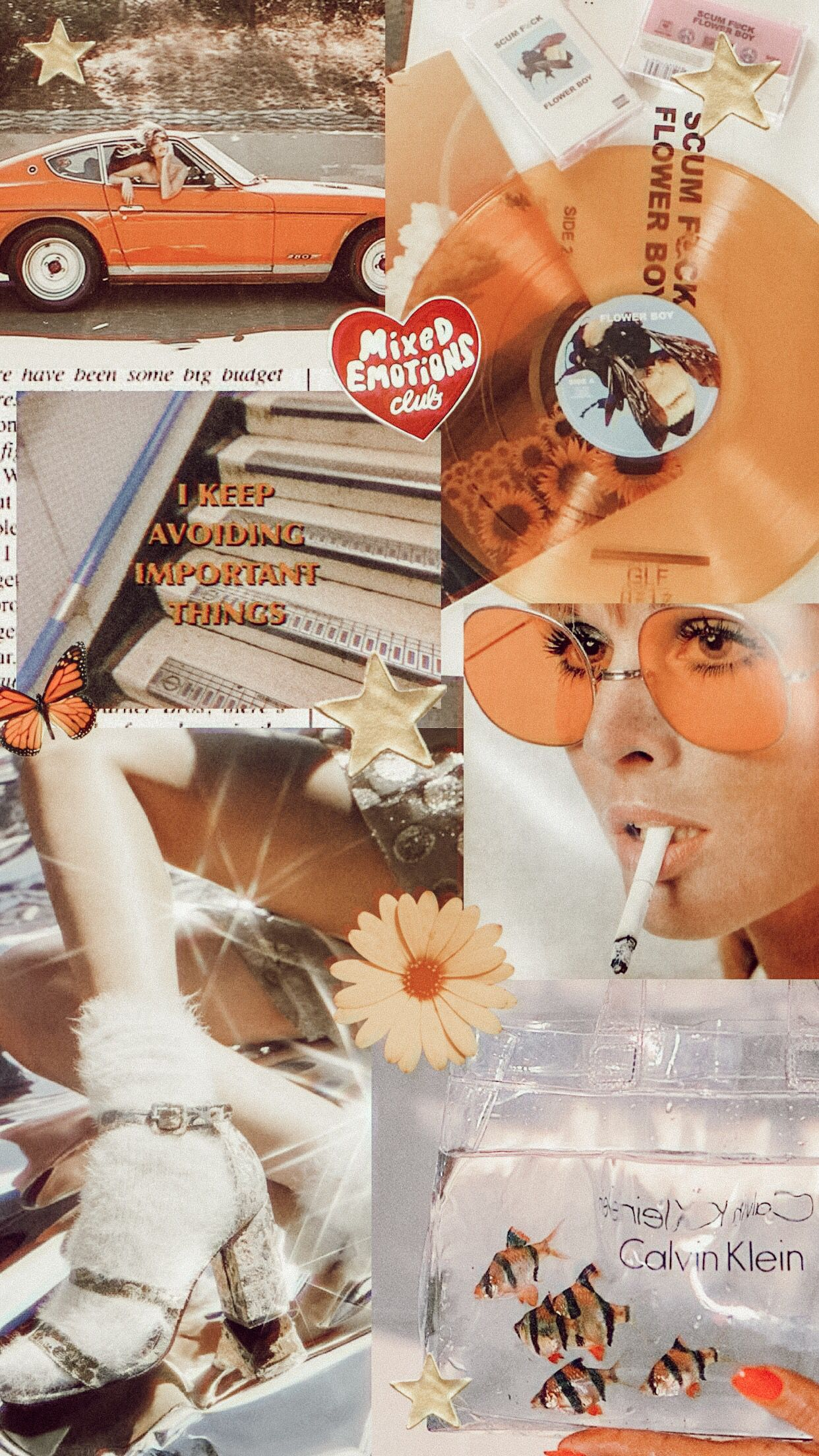 collage mood board graphic aesthetic collage