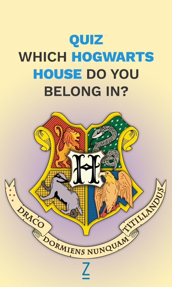 Which Hogwarts House Do You Belong In Harry Potter House