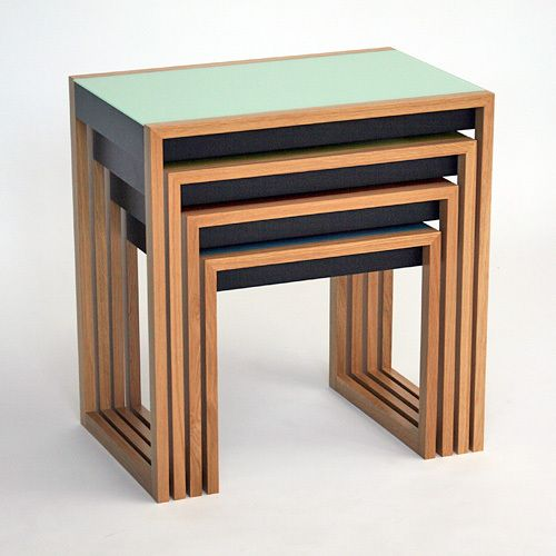 Nesting Tables By Josef Albers 4 Mehr More