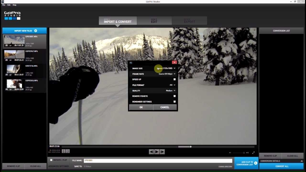 Remove Fisheye - GoPro Studio 2.0:GoPro Tips and Tricks   GOPRO ...