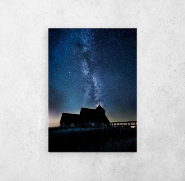 Cosmic Silhouette prints