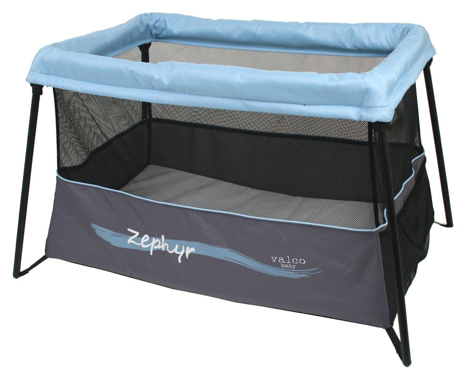 Crib alternatives for babies - Valco Baby Zephyr Travel Crib Extra Lightweight Collapsable Playpen An Alternative To The Highly