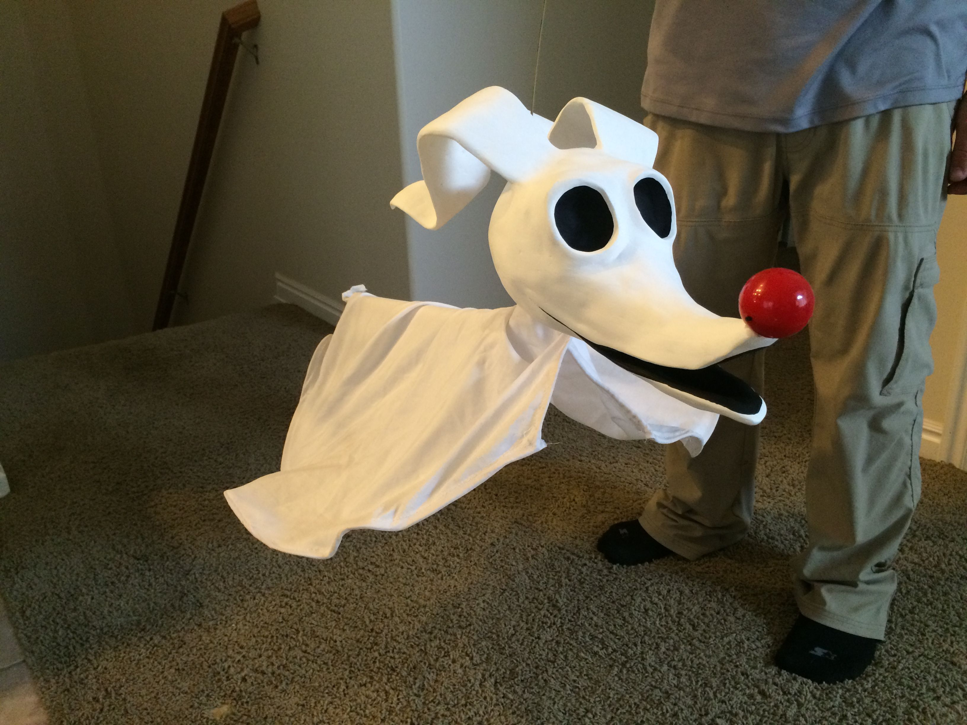 DIY Zero dog Nightmare before Christmas | Halloween | Pinterest