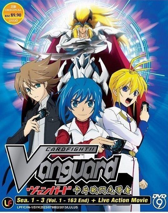 DVD ANIME CARDFIGHT VANGUARD Season 13 Vol.1163End Live