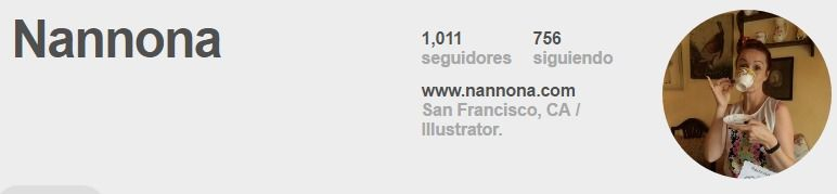 Nannona en Pinterest