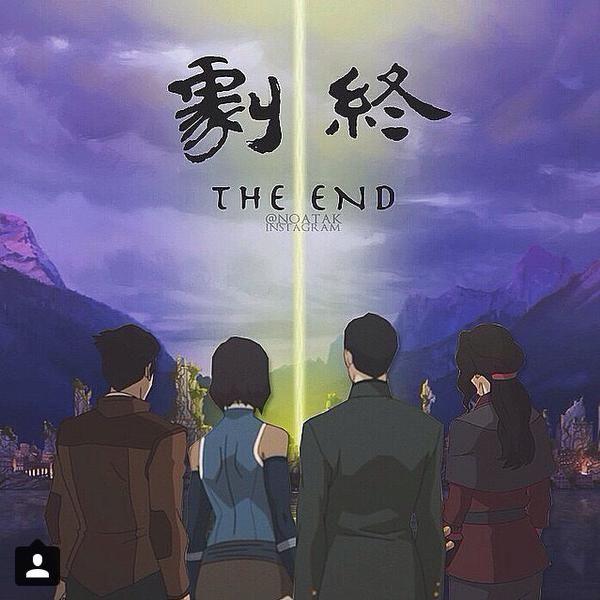 Team Avatar ending scene! | AVATAR | Korra avatar, Avatar aang, Korra